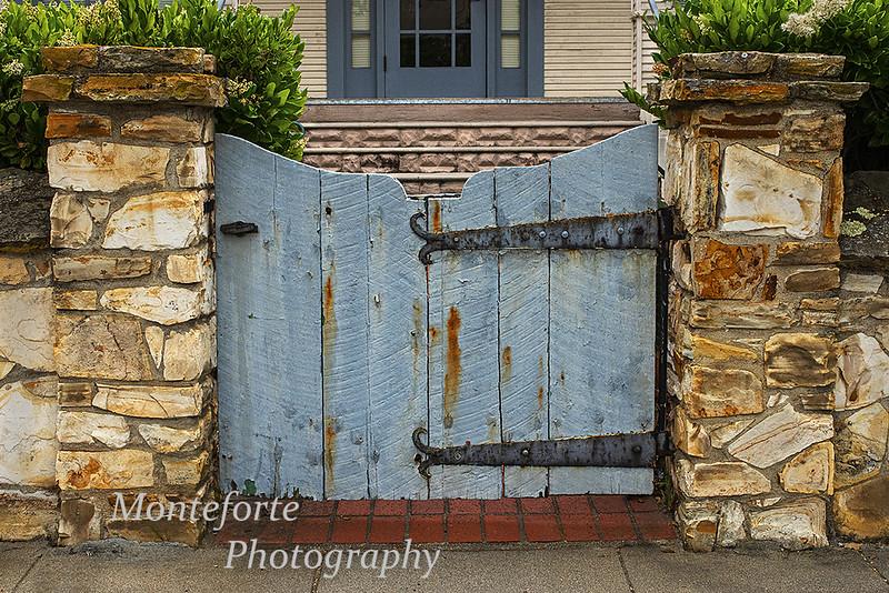 Gate in Monterey