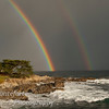 Double rainbow over Monterey Bay February 19 2011