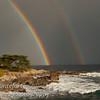 Double rainbow over Monterey Bay February 19 2011