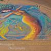 Sidewalk art at San Carlos Beach, Mty. By Amanda.