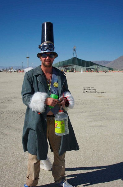 People - Burning Man 2007