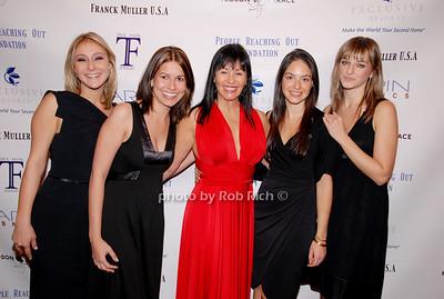 Lindsay Malen, Julie Licari, Christina DeSimone, Olivia Edery and Joanna Wozniak