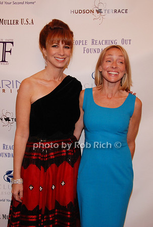 Jill Zarin and Ginny Hilfiger