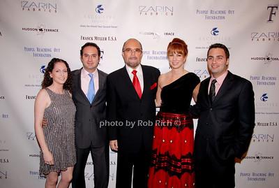 Jill Zarin, David Zarin, Bobby Zarin, Jill Zarin and Johnathan Zarin