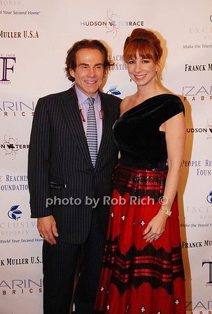 R. Couri Hay and Jill Zarin