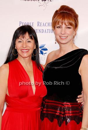 Christina DeSimone and Jill Zarin