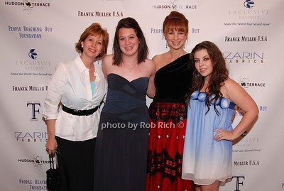 Lisa Wexler, Joanna Wexler, Jill Zarin and Allyson Shapiro