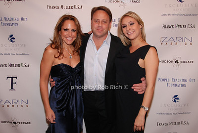 Michelle Ross, Adam Ross and Jill Zarin