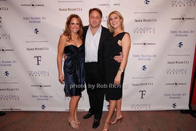 Michelle Ross, Adam Ross and Jill Zarin