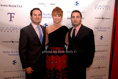 David Zarin, Jill Zarin and Johnathan Zarin