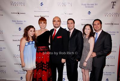 Allyson Shaprio, Jill Zarin, Bobby Zarin, David Zarin, Jill Zarin and Johnathan Zarin