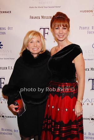 Sharon Bush and Jill Zarin