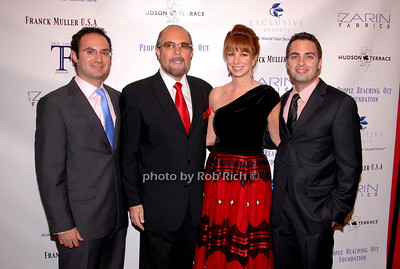 David Zarin, Bobby Zarin, Jill Zarin and Johnathan Zarin