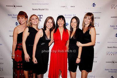 Jill Zarin, Lindsay Malen, Julie Licari, Christina DeSimone, Olivia Edery and Joanna Wozniak