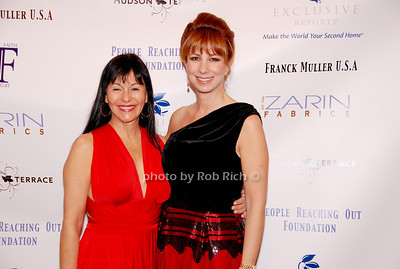 Christina DeSimone and Jill Zarin