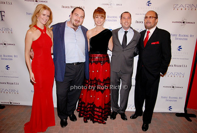 Alex McCord, Sean McGill, Jill Zarin, Michael Sinensky and Bobby Zarin