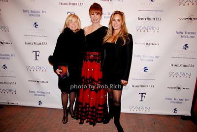 Sharon Bush, Jill Zarin and Andrea Correale
