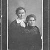 Sisters -  Elizabeth Hoscheit (left) and Elizabeth (Lizzie) Hoscheit Tschumper (right)