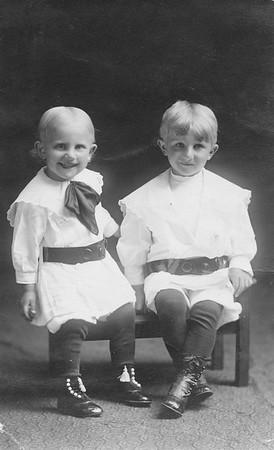 Alfred and Joe Stark  (twins)