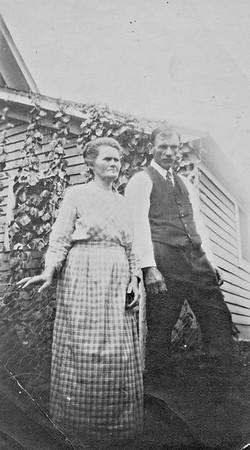 Great Grandma Elizabeth Tschumper and Great Grandpa John B. Tschumper (Vernie and Sophie's parents).