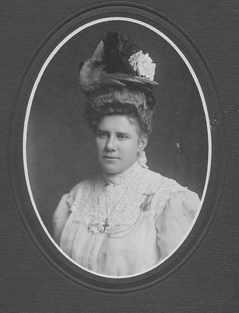 Mrs. John Stark  (written on back of photo)