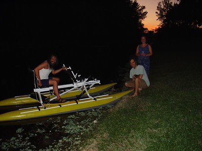 People we have seen on the Hillsboro Canal