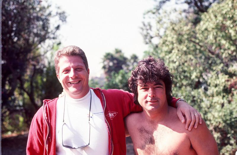 My friend Dru Harrison and I, circa 1990