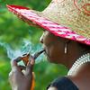 Smoking Woman