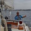 """Randy Ruby Sailing """"Jim Millers"""" Sailboat.  Photo:Jim Miller~"""