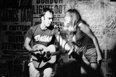 Mark Johnson and Josie Kuhn