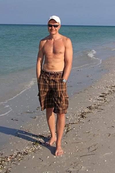 Rene on Cayo Costa beach