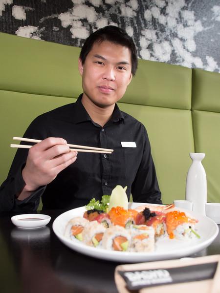 Brian and Sushi