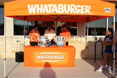 Pep Rally - Sept. 25, 2013 - Whataburger Bring the Heat