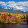 Mt. Katahdin from Abol Bridge.. Baxter State Park, Maine. October 5th, 2012.