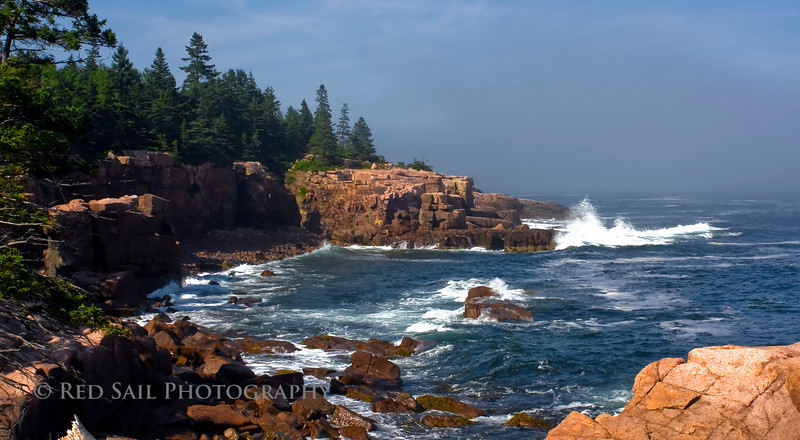 Coastal Maine, Acadia National Park.