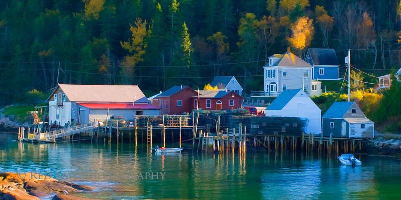 Stonington Harbor Lobster Dock