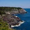 A view from the White Head trail on the Southeast side of Monhegan Island, Maine.