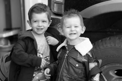 My two boys, Caden and Morgan.
