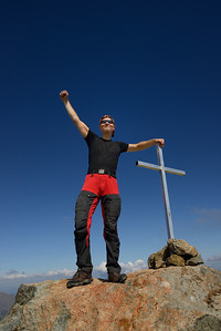 Top of Monte D'Oro, Corsica