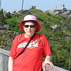 Susan on the 'mile high bridge' on Grandfather Mtn near Blowing Rock - few yrs ago.
