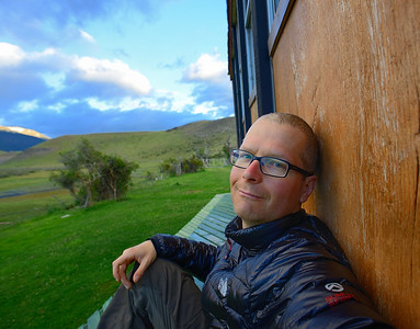 Relaxing in Patagonia