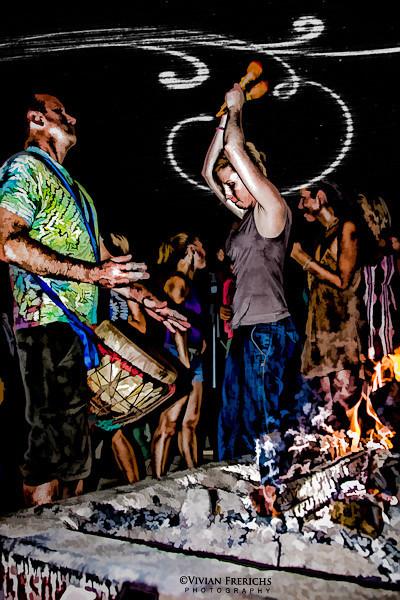 Drum circle dancers 2