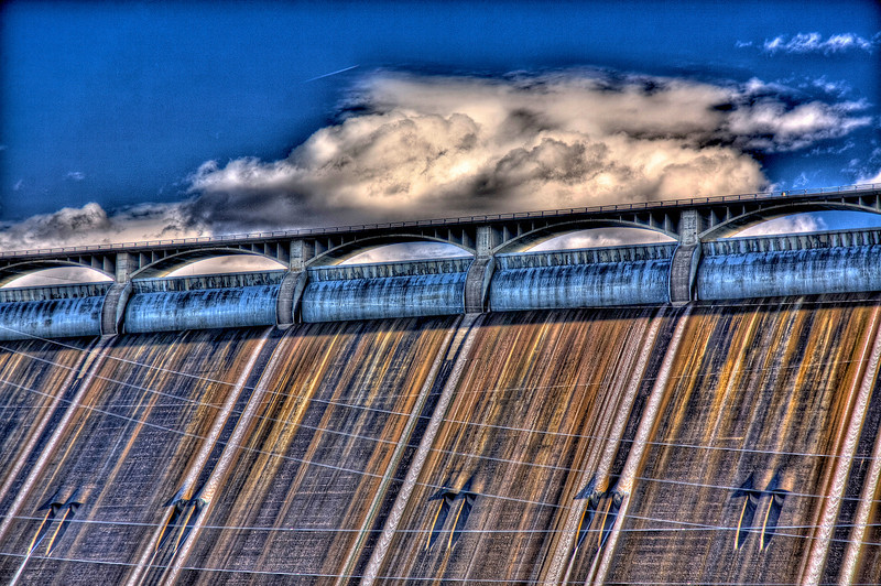 Clouds Over Spillway