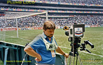Geoff Plumb, LWT PSC Crew 3, Azteca Stadium, Mexico, 22nd June 1986