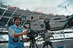Geoff Plumb, Stadio Delle Alpi, Turin, 4th July 1990