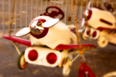 Pursuit Plane Antique Kiddie Ride