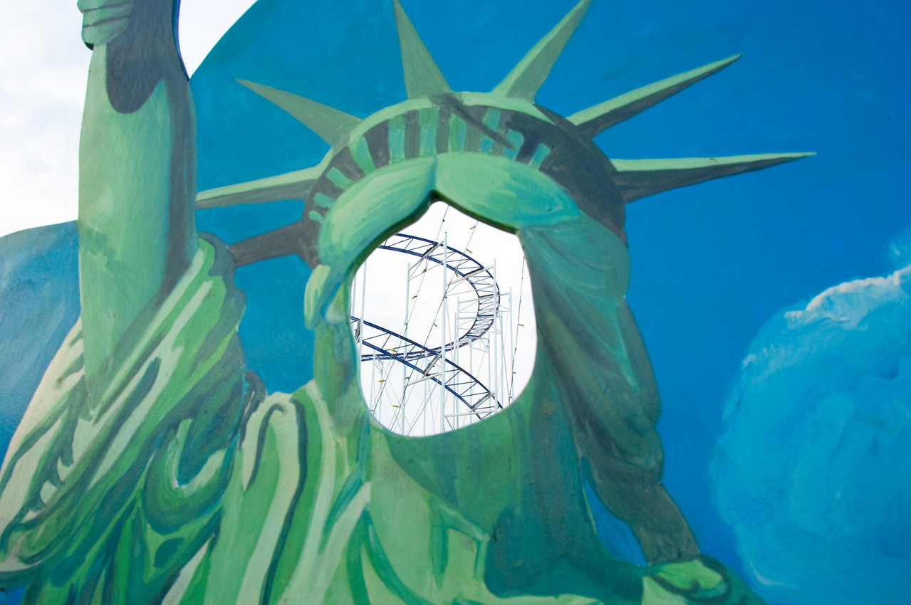 Statue of Liberty Cut Out