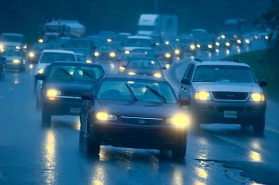 Traffic Congestion in Rain