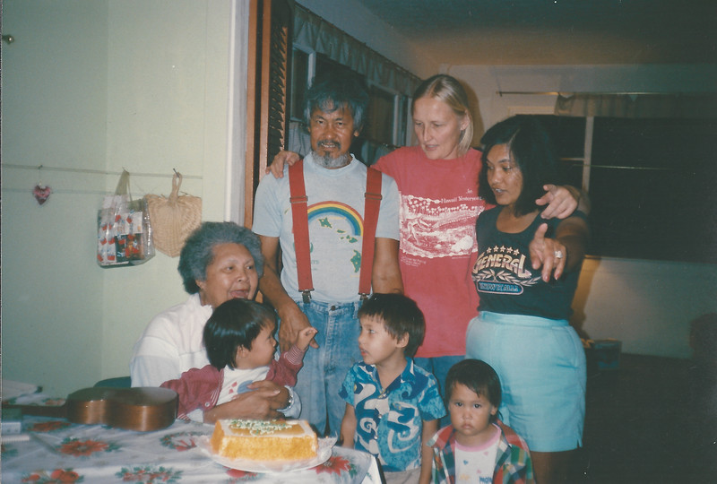 Dad Paula Betty Gma Alonzo Liz Zeke & Iris