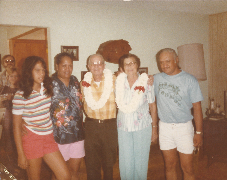 Brenda, Lil, Jay, Pearl and Jon Jon